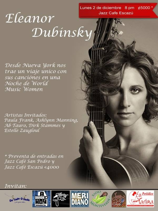 Eleanor Dubinsky en Costa Rica