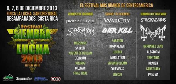 Festival Siembra y Lucha 2013