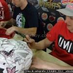 Firma de autografos X Knights 2014