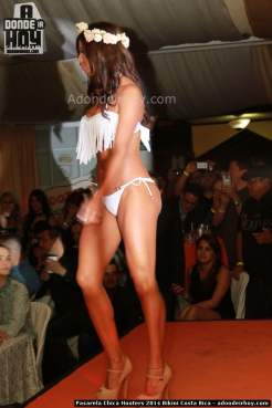 Pasarela Chica Hooters 2014 Bikini Costa Rica - 065