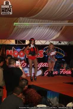 Pasarela Chica Hooters 2014 Disfraz Costa Rica - 038