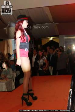 Pasarela Chica Hooters 2014 Disfraz Costa Rica - 064