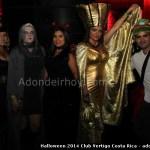 Halloween 2014 Club Vertigo Costa Rica