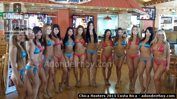 Chica Hooters 2015