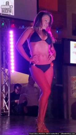 Final Chica Hooters 2015 Costa Rica