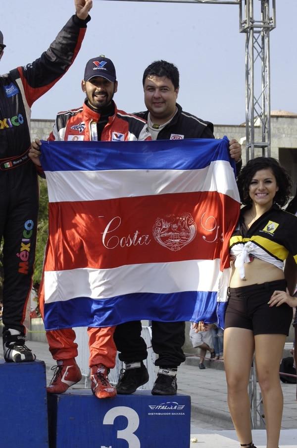Costa Rica en Rally NACAM