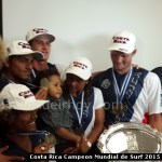 Costa Rica Campeon mundial de Surf 2015