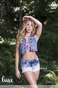 Paola Ramirez Modelo Adondeirhoy Agosto 2015