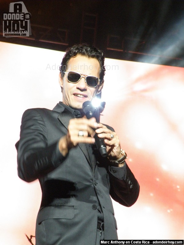 Concierto de Marc Anthony en Costa Rica