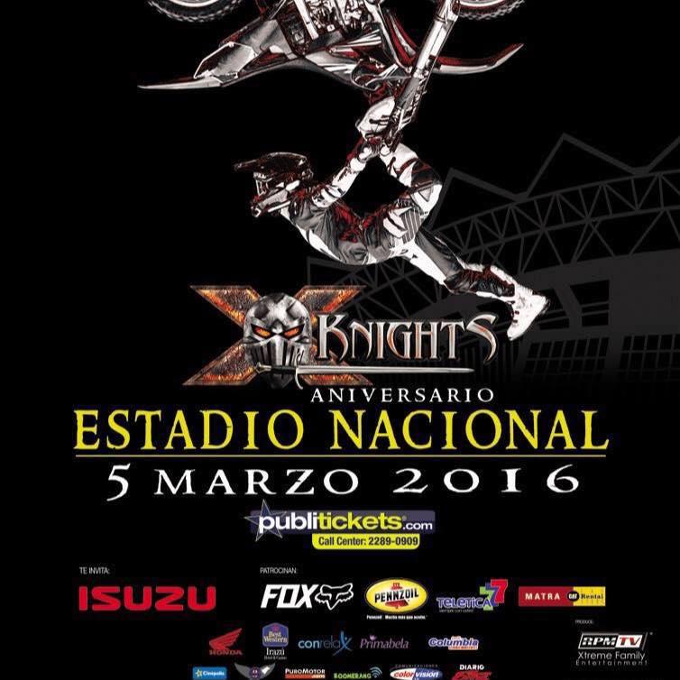X Knights Costa Rica 2016