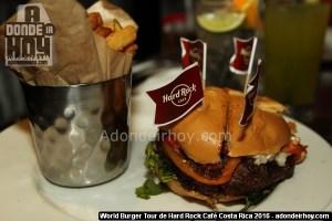 World Burger Tour de Hard Rock Café