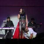 Maria José Castillo y Eduardo Aguirre abriendo concierto de Ha Ash en Costa Rica