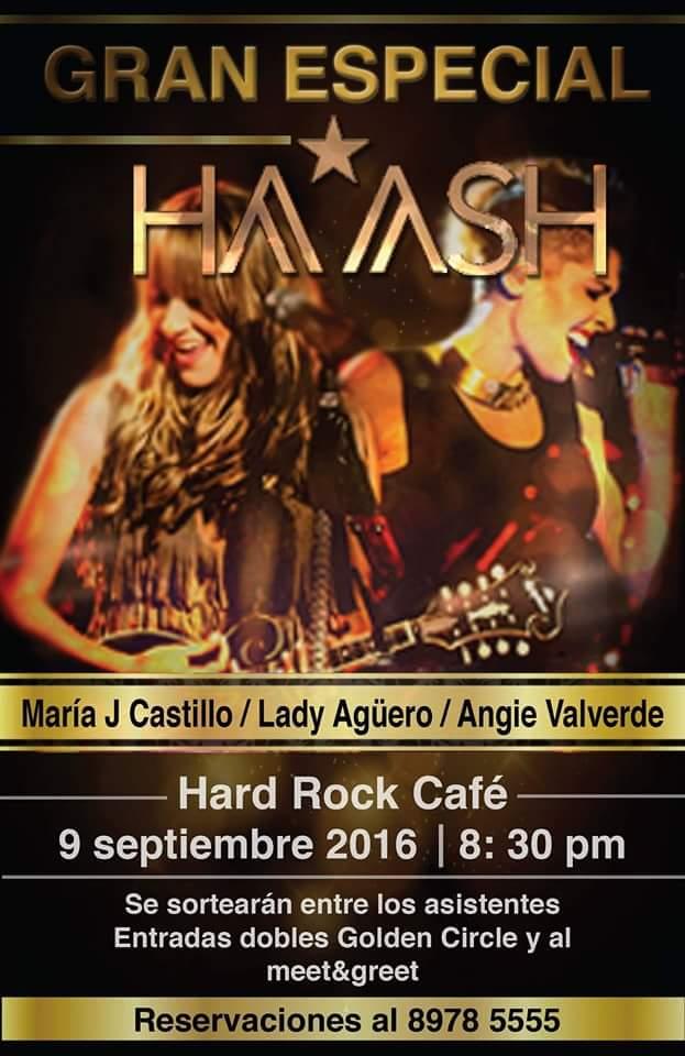 Especial éxitos de Ha Ash Costa Rica