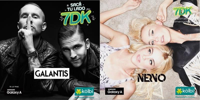 Kölbi 7DK Trae Concierto con Nervo y Galantis en Costa Rica