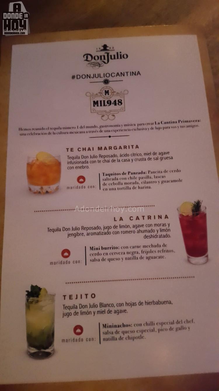 Recetas Tequila Don Julio