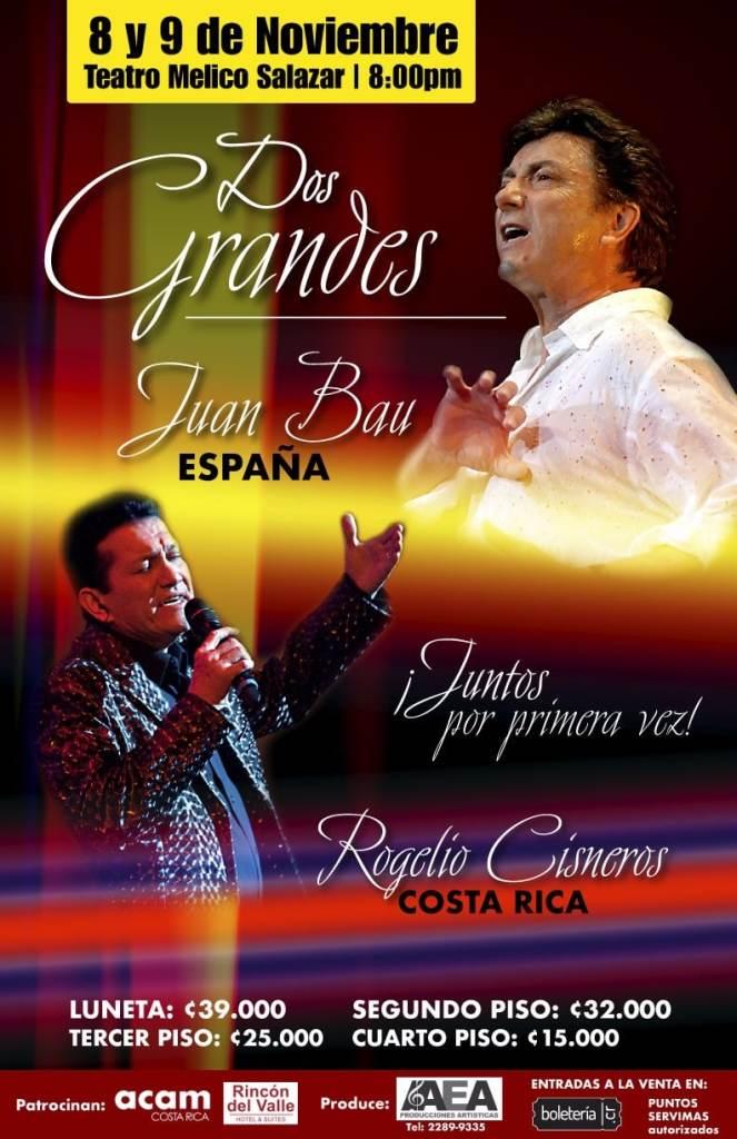 Juan Bau y Rogelio Cisneros Juntos