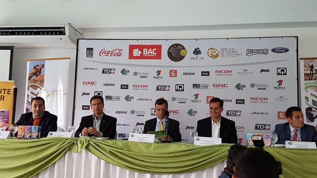 Conferencia de prensa copa del café 2018