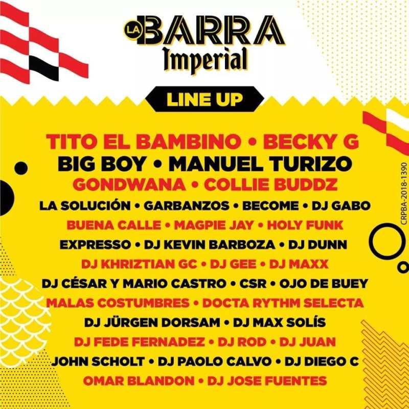 Calendario Barra Imperial 2019