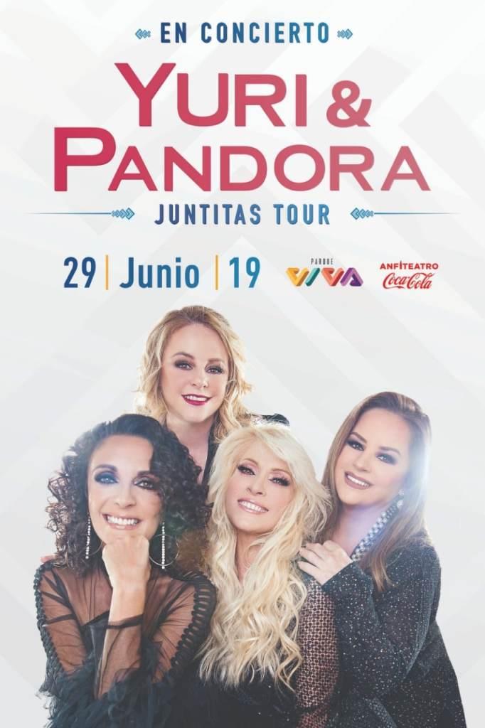 Concierto Pandora y Yuri Juntitas Tour en Costa Rica