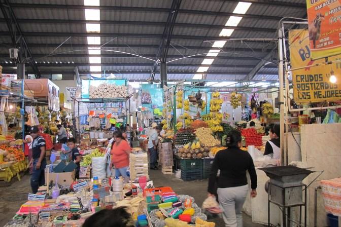 The market area of cholula