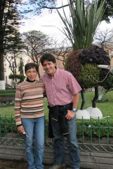 Claudia y Arturo