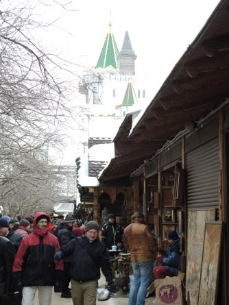 In market