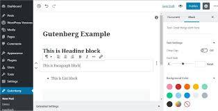 Gutenberg, l'éditeur de texte nouvelle génération arrive sur WordPress !