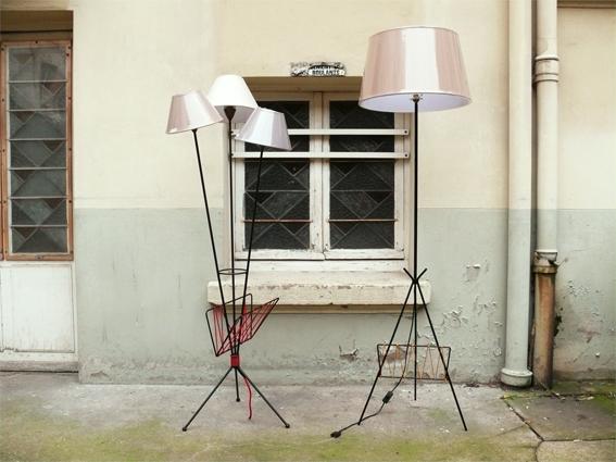 lampadaire adopte un meuble