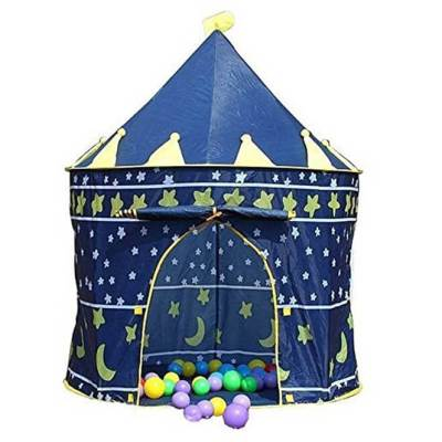 Children's Castle Play Tent (Blue)