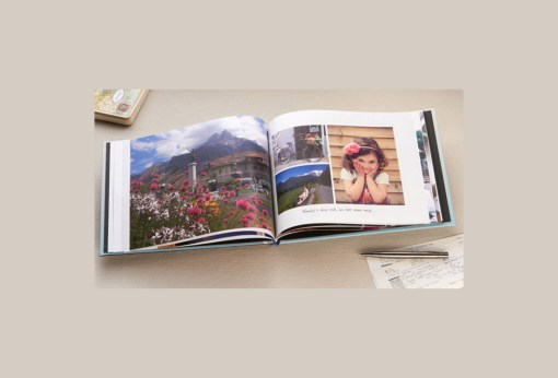 Picture of a photo book