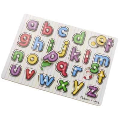 Melissa & Doug wooden alphabet puzzle