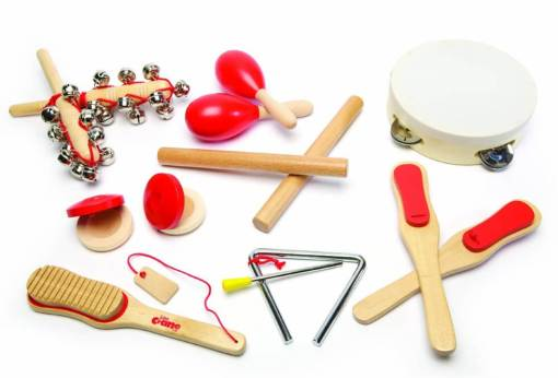 Photo of wooden instruments for children
