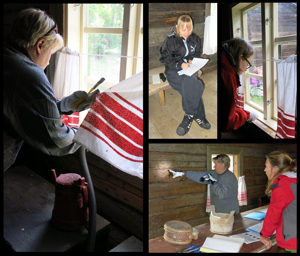 Sisätöitä Sääksmäen kotiseutumuseolla © Pirkanmaan maakuntamuseo