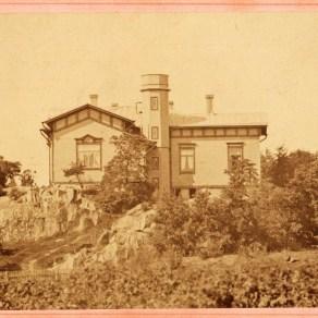 Milavidan huvila idästä Svante Lagergren Treen museoiden kuva-arkisto.