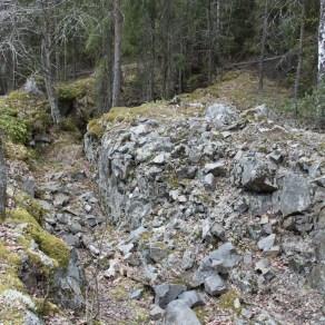 Tampere Mustavuori juoksuhauta Matti Vuorikoski