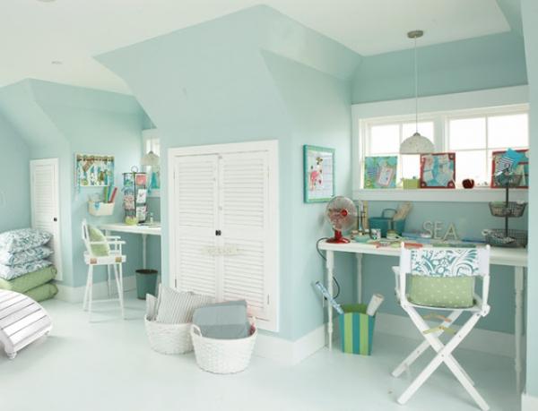 Beach House Colors Interior