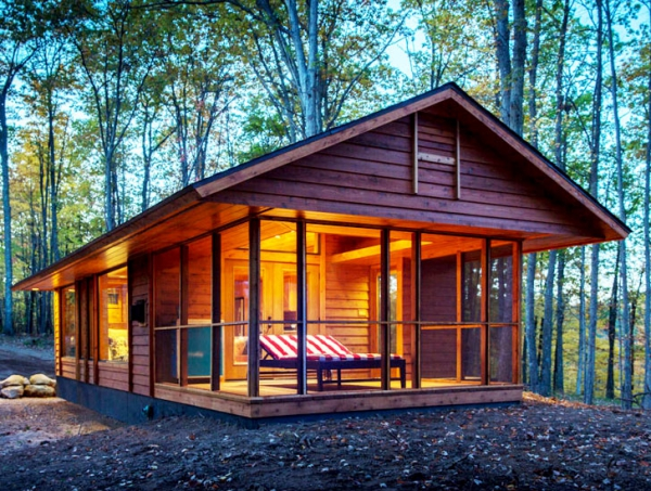 Moveable Wooden Cabin Aptly Called Escape Adorable Home