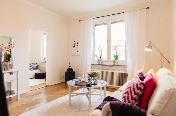 Naturally Inviting Girly Apartment