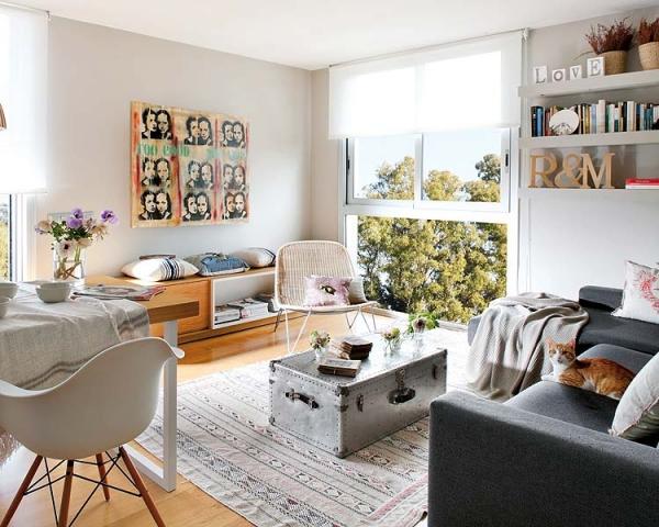 Shabby Chic Apartment Design