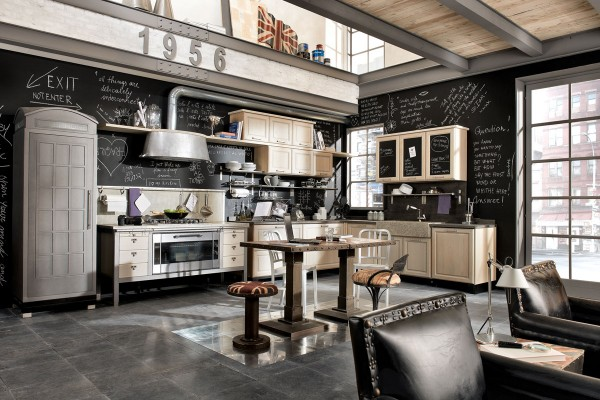 Vintage And Industrial Style Kitchens By Marchi Group Adorable Home
