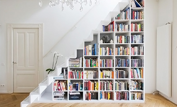 The Staircase As A Storage Space – Adorable Home | Staircase For Small Area | Beautiful | Spiral | Compact | Low Cost | Living Room