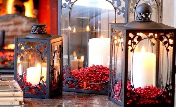 Decorating With Christmas Lanterns Adorable Home