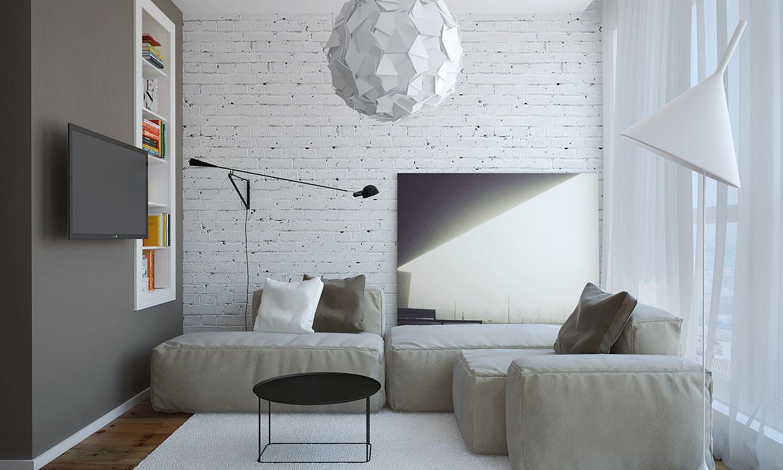 Modern Small Apartment Design In Bulgaria