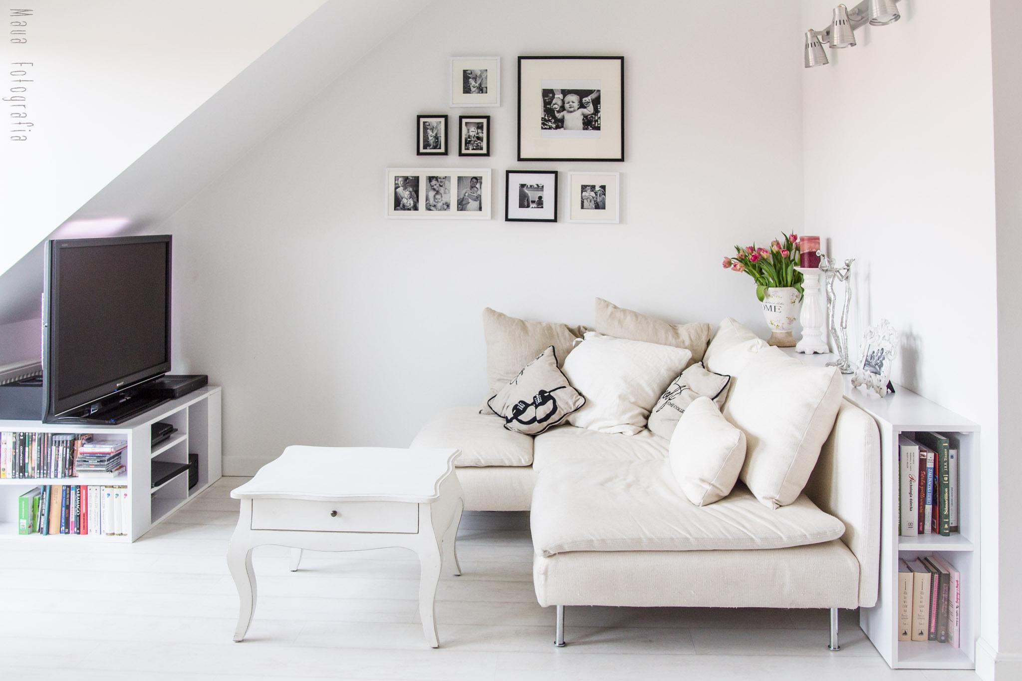 Tiny Attic Living Room