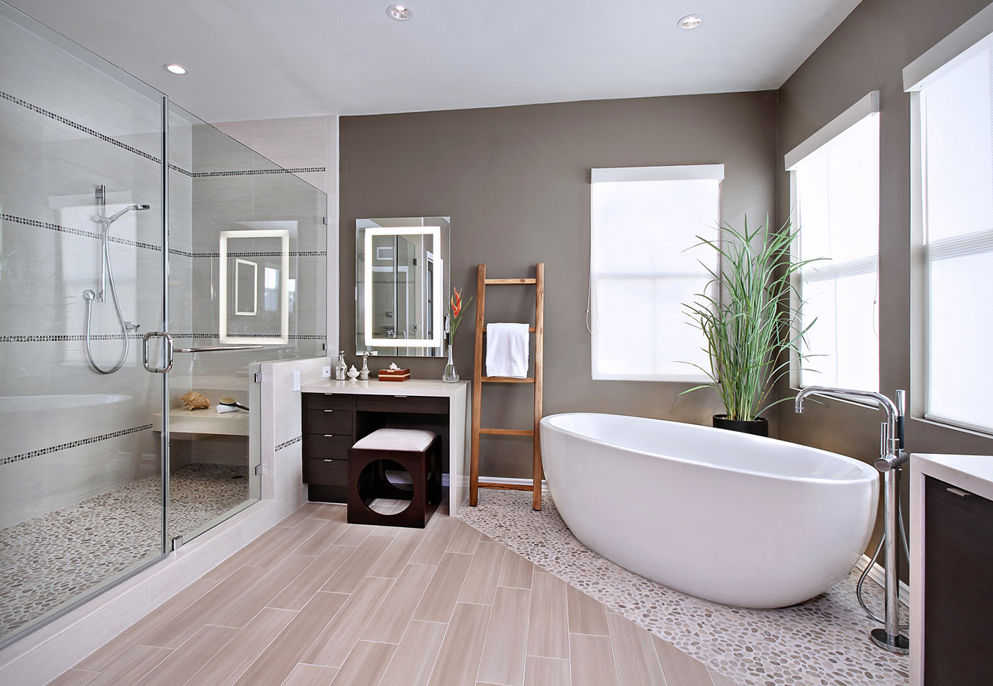 creating a timeless bathroom look all
