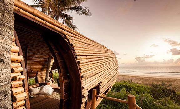Fantasy Bamboo Cabin On The Beach Adorable Home