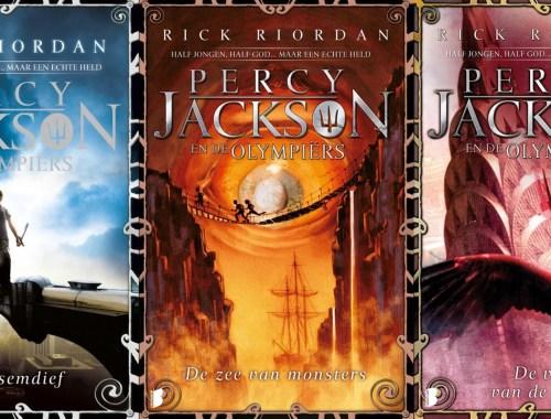 Volgorde Percy Jackson en de Olympiërs serie