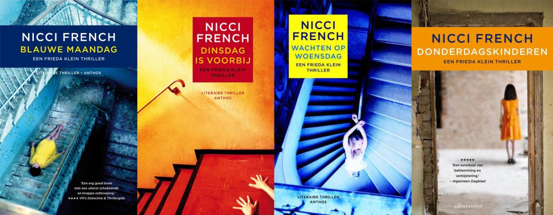 Volgorde van de Frieda Klein serie van Nicci French