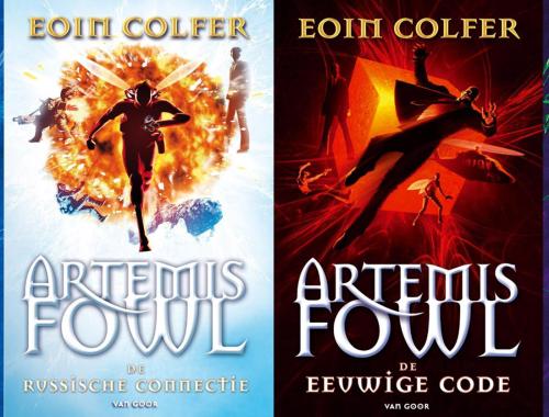Volgorde van de Artemis Fowl serie van Eoin Colfer