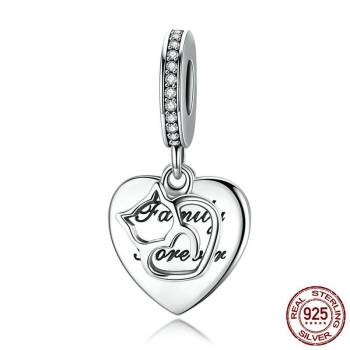 Sterling Silver Cat Memorial Charm Charms Memorials